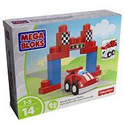 Mega Bloks First Builders Speedy Racecar