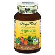 Mega Food Magnesium Tablets