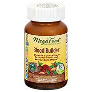 MegaFood Blood Builder Whole Food Multivitamin & Mineral Supplement Tablets
