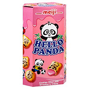 Meiji Hello Panda Biscuits with Strawberry Cream