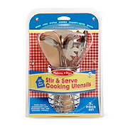 Melissa & Doug Stir & Serve Cooking Utensils