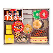 Melissa & Doug Wooden Grill & Serve BBQ Set