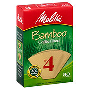 Melitta Bamboo Cone #4 Coffee Filter