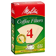 Melitta Cone Coffee Filters No 4 Natural Brown