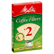 Melitta Natural Brown No. 2 Cone Coffee Filters
