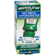 Mentholatum No Mess Roll On Vaporizing Rub