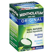 Mentholatum Topical Analgesic Rub, Original Ointment