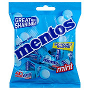 Mentos Individual Wrap Bag Mint