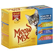 Meow Mix Cat Food, Poultry & Seafood Variety Pack