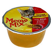 Meow Mix Cat Food, with Real Chicken & Beef in Sauce