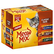 Meow Mix Classic Pate Variety Pack