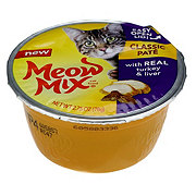 Meow Mix Classic Pate Wet Cat Food Turkey & Liver