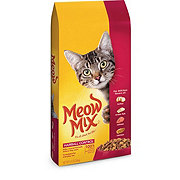 Meow Mix Hairball Control Cat food, Chicken Turkey Salmon & Oceanfish