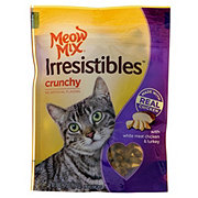 Meow Mix Irresistibles Crunchy White Meat Chicken & Turkey