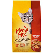 Meow Mix Salmon & White Meat Chicken Flavors Cat Food