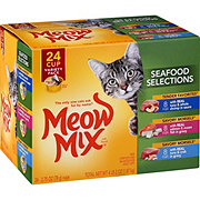 Meow Mix Seafood Selections Variety Pack Cat Food