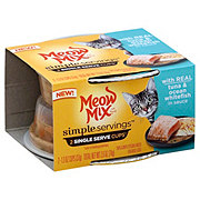 Meow Mix Simple Servings Tuna And Whitefish