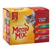 Meow Mix Tender Favorites Poultry & Beef Variety Pack