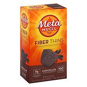 Metamucil Chocolate Fiber Thins