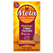 Metamucil Multi-Grain Cinnamon Spice Fiber Wafers