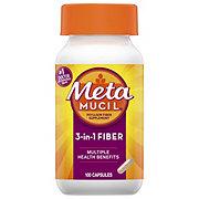Metamucil Multi-Health Psyllium Fiber Capsules