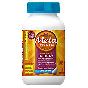 Metamucil Multi-Health Psyllium Fiber Capsules Plus Calcium