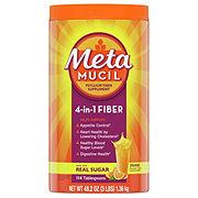 Metamucil Orange Smooth Fiber Supplement/Therapy For Regularity