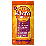 Metamucil Psyllium Fiber Supplement Orange Smooth Powder