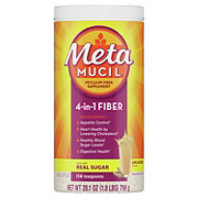 Metamucil Psyllium Fiber Supplement Original Coarse Powder