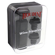 Metrokane Houdini Wine Preserver with Stoppers