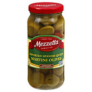Mezzetta Imported Spanish Queen Martini Olives Marinated with Dry Vermouth