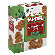 Mi-Del All Natural Gingerbread Men Cookies