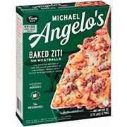 Michael Angelo's Baked Ziti & Meatballs