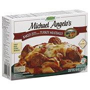 Michael Angelo's Baked Ziti With Turkey Meatballs