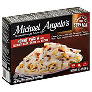 Michael Angelo's Penne With Creamy Basil Sauce