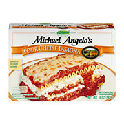 Michael Angelos Italian Natural Cuisine White Label Four Cheese Lasagna