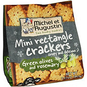 Michel Et Augustin Crackers Green Olives & Rosemary