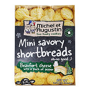 Michel Et Augustin Shortbreads Beaufort Cheese With Pepper