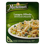 Michelina's Authentico Lasagna Alfredo with Broccoli & Mozzarella