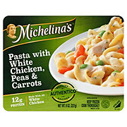 Michelina's Authentico Pasta with White Chicken Peas and Carrots