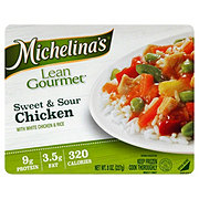 Michelina's Lean Gourmet Sweet and Sour Chicken with Rice