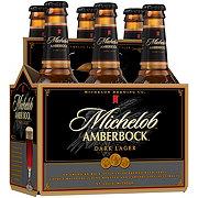 Michelob Amber Bock Dark Lager 12 oz Bottles