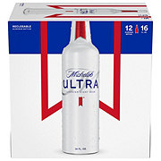 Michelob Ultra 16 oz Aluminum Bottles