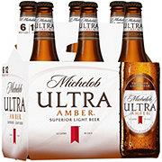 Michelob Ultra Amber Beer 12 oz Bottles