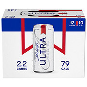 Michelob Ultra Beer 10 oz Cans