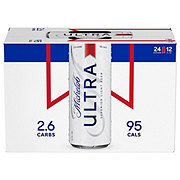 Michelob Ultra Beer 12 oz Cans