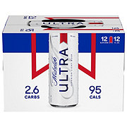 Michelob Ultra Beer 12 oz Slimline Cans