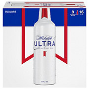 Michelob Ultra Beer 16 oz Aluminum Bottles