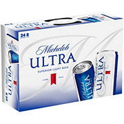 Michelob Ultra Beer 8 oz Slim Cans