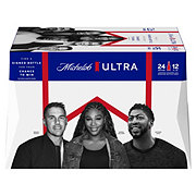 Michelob Ultra Beer Long Neck 12 oz Bottles